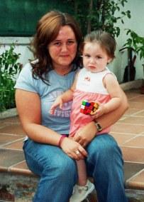 Con tita Pilar...