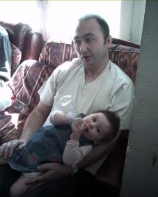 Aqui con el papá...