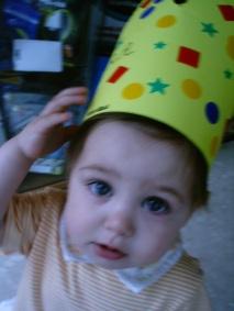 Felicidades Sara... el primer cumpleaños